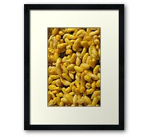 Raw silk Framed Print