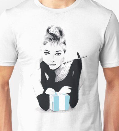 Breakfast at Tiffany's - Blue Unisex T-Shirt