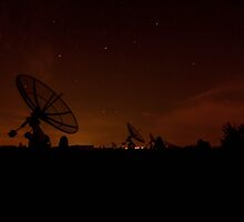 Dissused Radio Satellites, Belgium by AlanDuggan