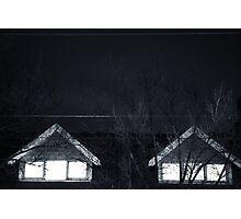 Eery window        Photographic Print