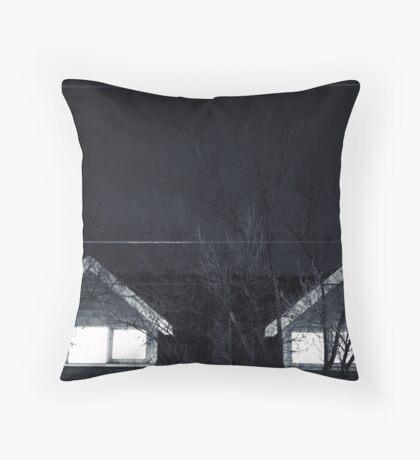 Eery window        Throw Pillow