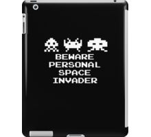 Personal Space Invader iPad Case/Skin