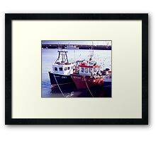 Tied Up Framed Print