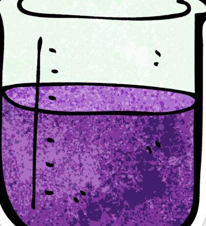cartoon chemicals Sticker