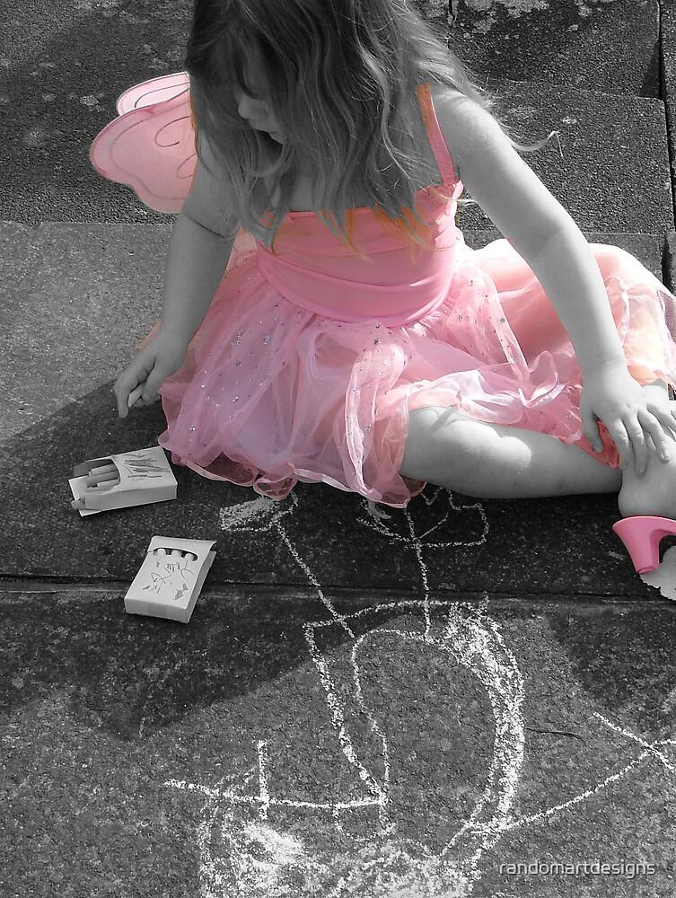 'pretty in pink' by randomartdesigns