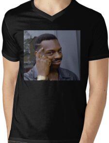 Roll Safe meme Mens V-Neck T-Shirt