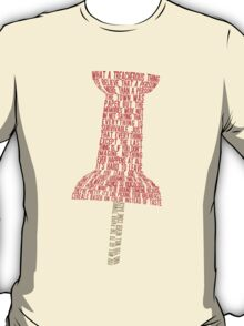 Paper Towns Typography T-Shirt