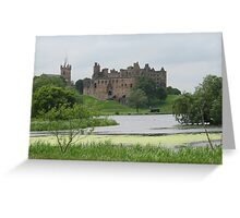 Linlithgow Palace and loch Scotland Greeting Card