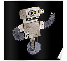 Clunky old robot Poster