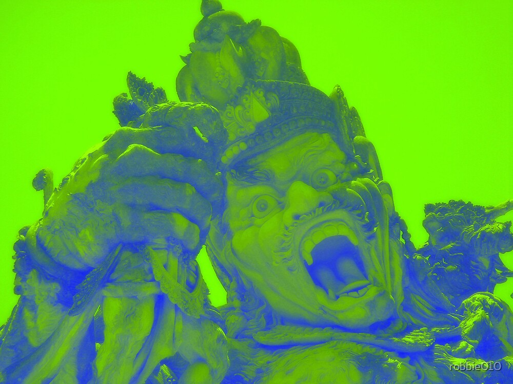 Hazy God by robbie010