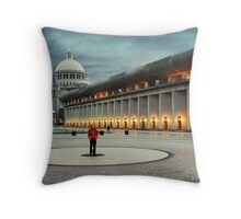 Christian Science Center Throw Pillow