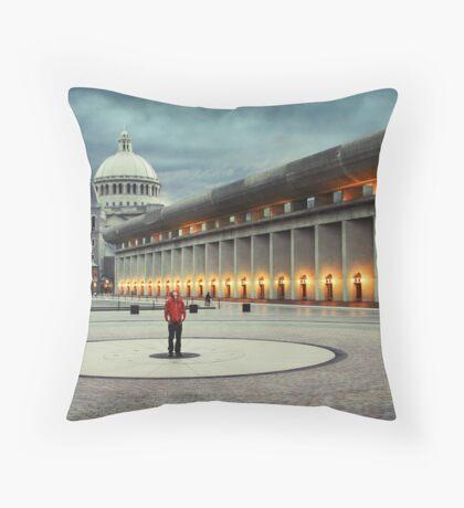 Christian Science Center Throw Pillow
