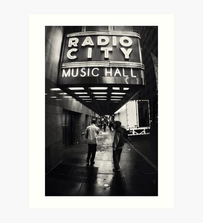 Radio City Music Hall Art Print
