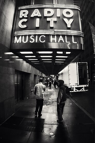 Radio City Music Hall by Lasse Damgaard