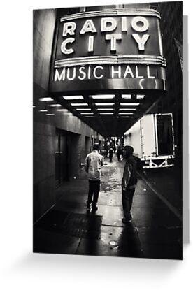 Radio City Music Hall by Lasse Damgaard