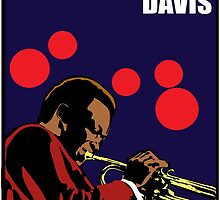 Miles Davis by Rich Anderson