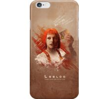 Leeloo Dallas, Multipass! iPhone Case/Skin