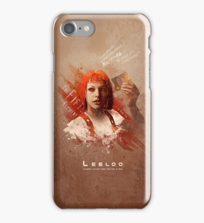 Leeloo Dallas, Multipass! iPhone Case/Skin