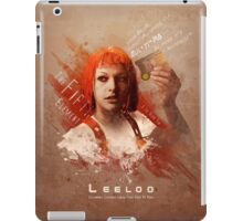 Leeloo Dallas, Multipass! iPad Case/Skin