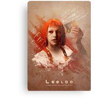 Leeloo Dallas, Multipass! Metal Print