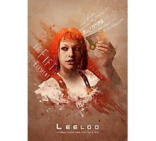 Leeloo Dallas, Multipass! Photographic Print