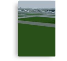 airport green Canvas Print