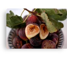 Figs In A Bowl Canvas Print