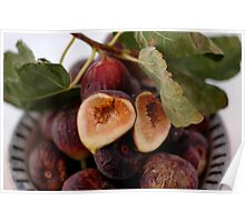 Figs In A Bowl Poster