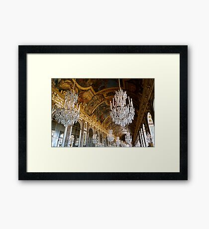 Hall of Mirrors, Versailles Framed Print