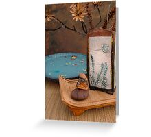 Zen Elements  Greeting Card