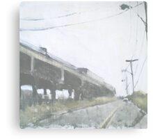 a train Canvas Print
