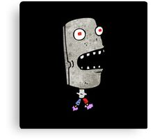 robot head Canvas Print