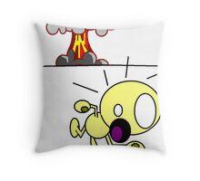 dooms day Throw Pillow