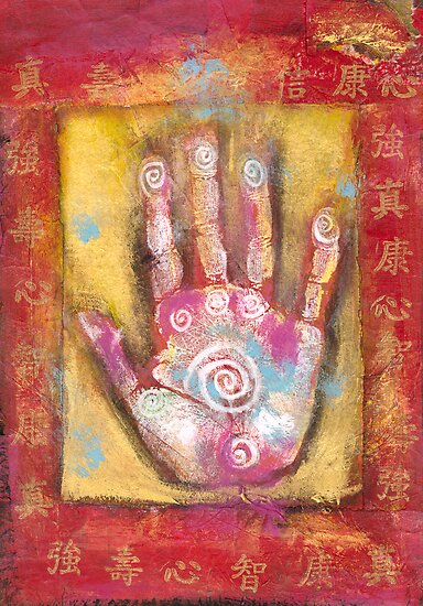 Chinese Energy Hand by Antaratma Images