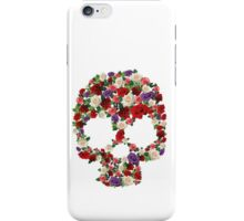 Flower Skull iPhone Case/Skin