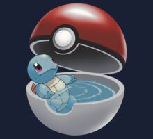 Squirtle Pokeball by DonMazzi