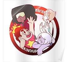Steven Universe and the Crystal Gems Poster