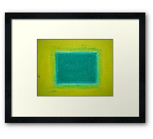 Brilliant Sunshine Framed Print