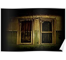 The Ritz Flats - All windows have shutters for your privacy and security. Poster