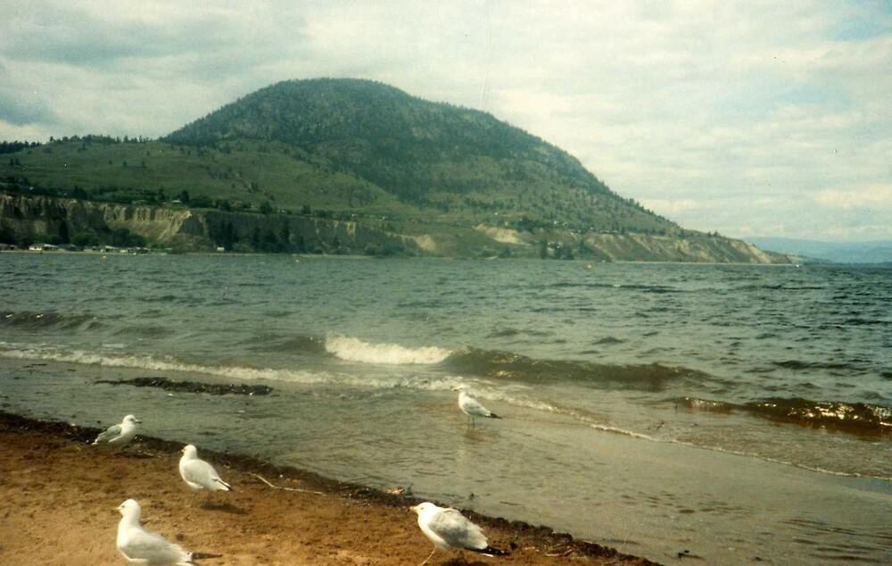 mountain lake by oilersfan11