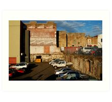 Back Alley Parking Art Print