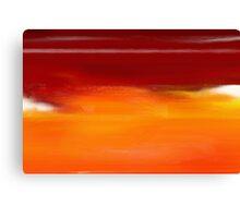 Orange 1 Canvas Print