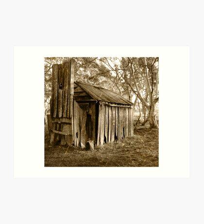 settlers hut Art Print