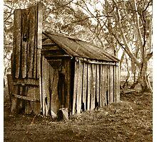 settlers hut Photographic Print