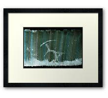 WDVMM - 0113 - Ribbon Stitch Framed Print
