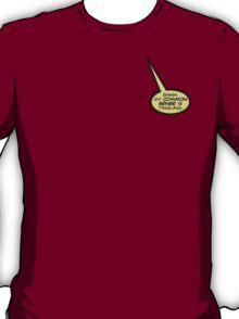 Deadpool Quote: Common Sense T-Shirt