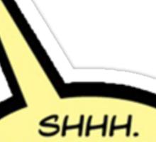 Deadpool Quote: Common Sense Sticker