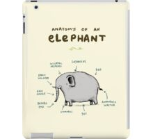Anatomy of an Elephant iPad Case/Skin