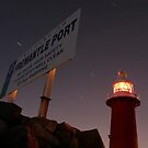 North Mole Lighthouse - Fremantle Western Australia  by EOS20