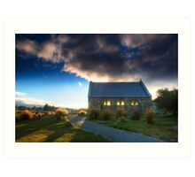 Church of the Good Shepherd - Sunset Art Print
